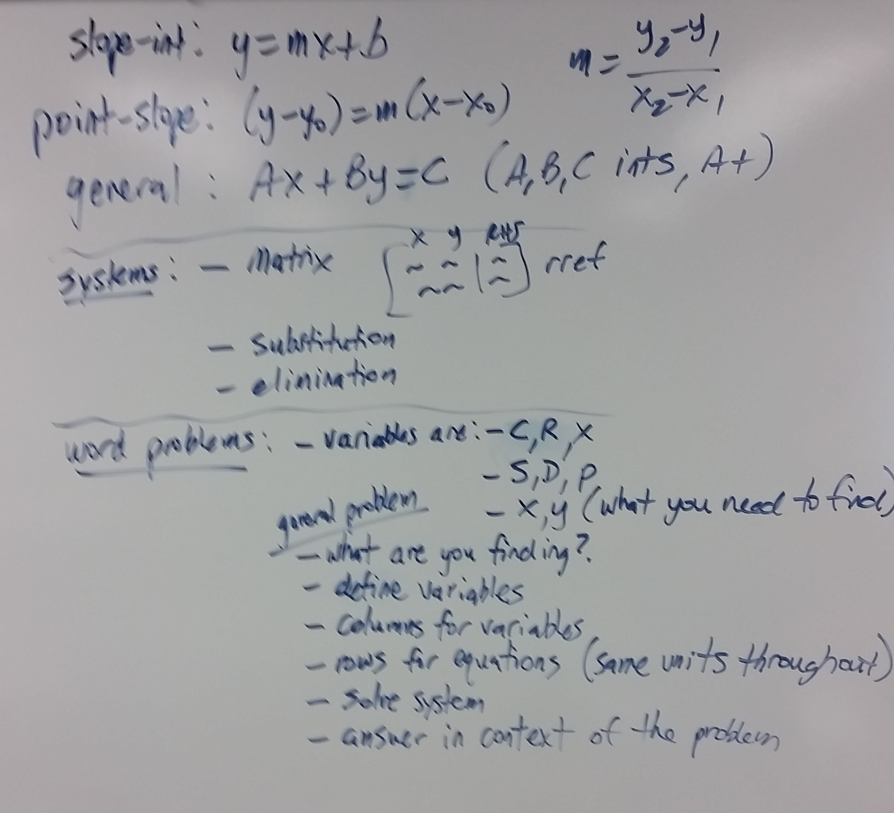 Mr fellings math site honors finite mathematics brief calculus unit 1 summary click to enlarge robcynllc Choice Image